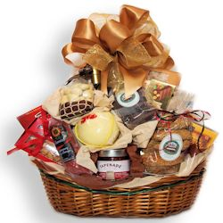 $80.00 Autumn Bounty Gift Basket
