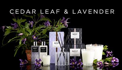 $14.00 Cedar Leaf & Lavender Votive