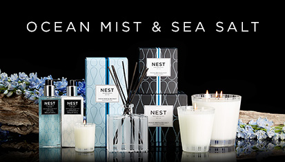 $16.00 Ocean Mist & Sea Salt Votive Candle