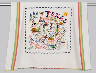 $20.00 Texas Dish Towel