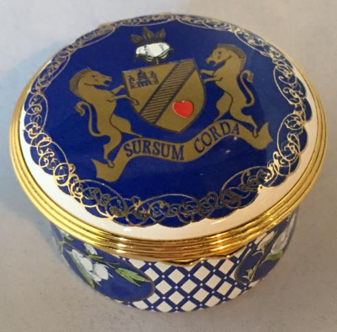 $300.00 Cotton Palace Enamel Box