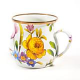 MacKenzie-Childs  Flower Market Enamelware Mug $40.00