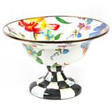 MacKenzie-Childs  Flower Market Enamelware Large Compote $145.00