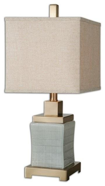 $248.00 Gray square lamp
