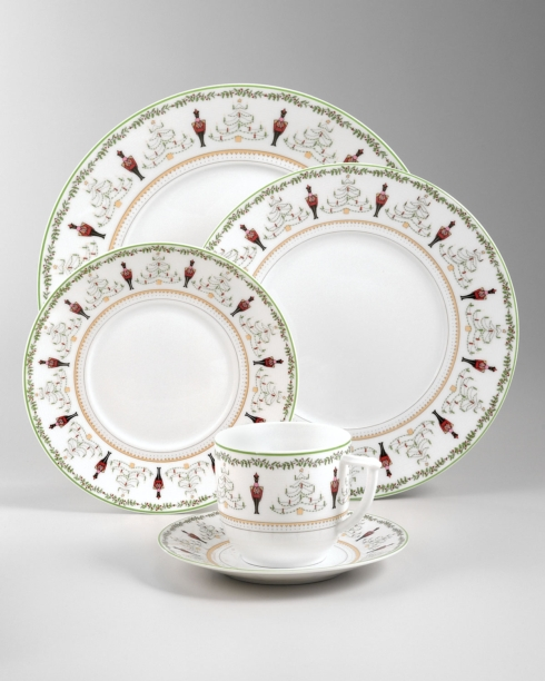 Bernardaud  Grenadiers Dinner $82.00