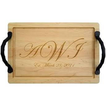 $200.00 20 x 14 Cutting Board Personalized