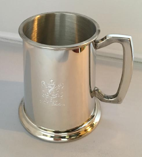 $60.00 Pewter Tankard with Cotton Palace Crest