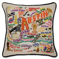 $168.00 Austin Sampler Pillow
