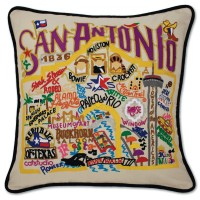 $168.00 San Antonio Sampler Pillow