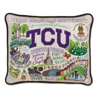 KJLane   TCU Sampler Pillow $168.00