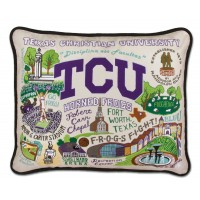 $168.00 TCU Sampler Pillow