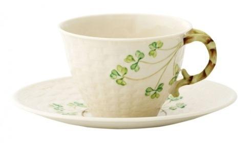 Belleek  Shamrock Tableware Shamrock Cup & Saucer $70.00