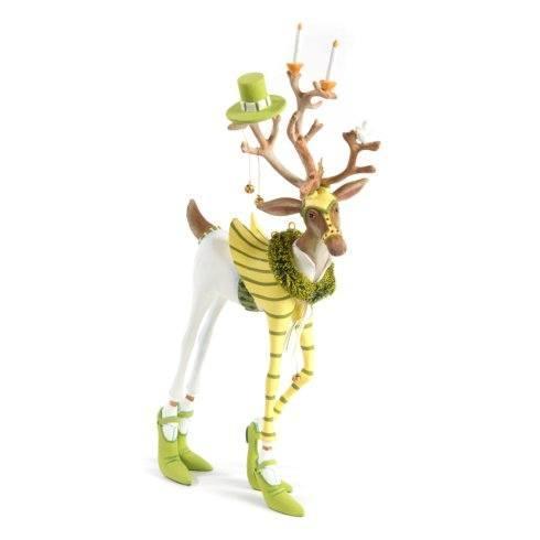 Patience Brewster  Dash Away Reindeer Figures Prancer Reindeer Figure $98.00