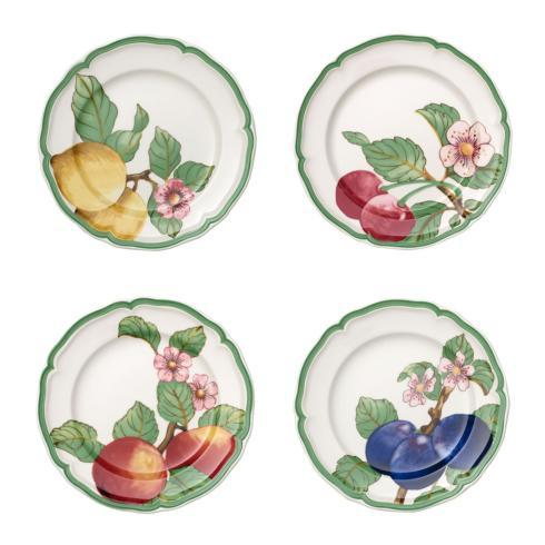 $129.60 Dinner Plate: Assorted Set of 4