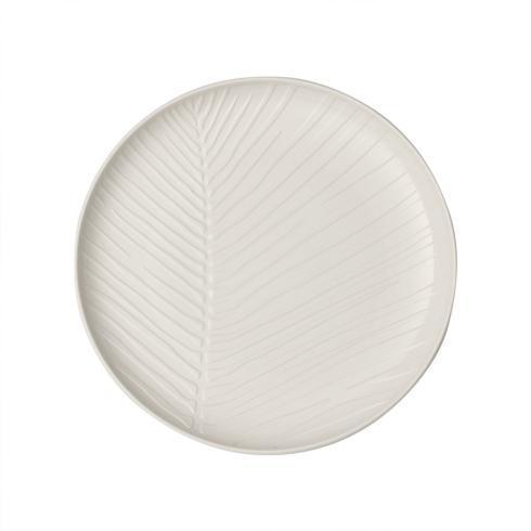 Round Plate: Leaf