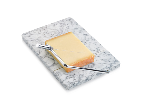 Artland  White Marble Marble Cheeseboard with Slicer $26.00