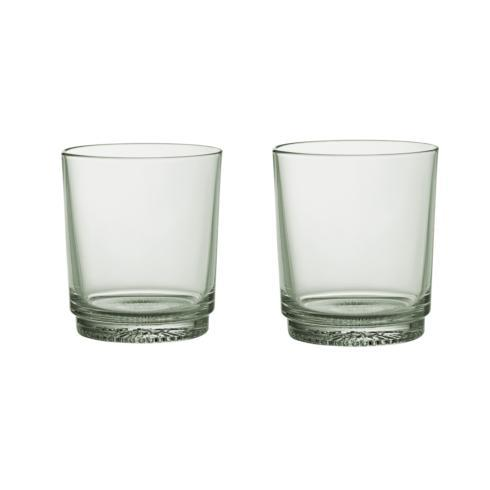 $40.00 Water Glass/ DOF\'s: Set of 2 Mineral