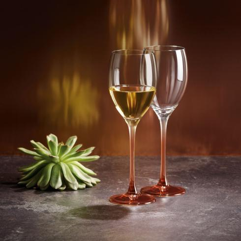 $50.00 White Wine Goblet: Set of 2