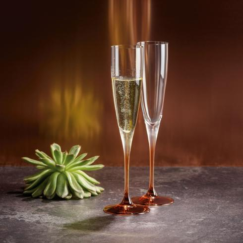 $50.00 Champagne Flute: Set of 2