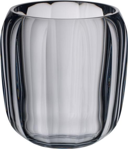 $40.00 Hurricane Lamp/ Small Vase: Cosy Grey