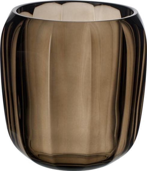 $40.00 Hurricane Lamp/ Small Vase: Natural Cotton
