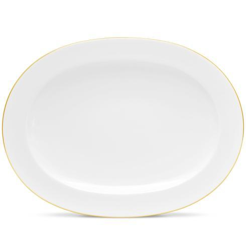 "Noritake  Accompanist Oval Platter, 14"" $124.00"