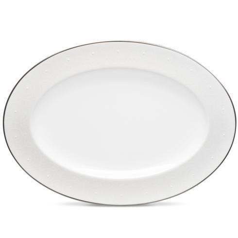 "Noritake  Ventina 14"" Oval Platter $140.00"