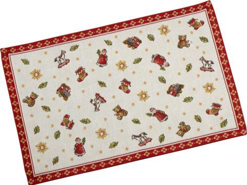 $12.00 Embroidered Placemat: Toys