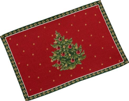 $12.00 Embroidered Placemat: Tree