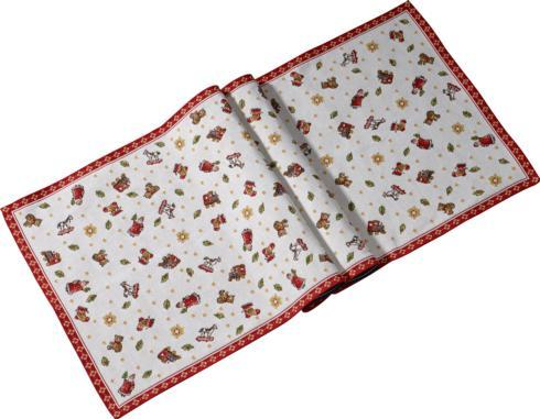 $45.00 Extra Long Embroidered Runner
