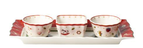$40.00 Set of 3 Dip Bowls with Tray