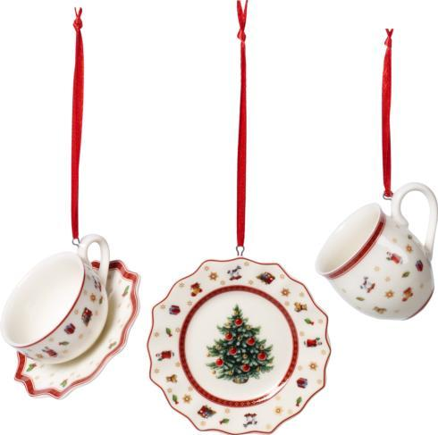 Villeroy & Boch  Toy\'s Delight Decoration Ornaments: Tableware 3 Piece Set $30.00