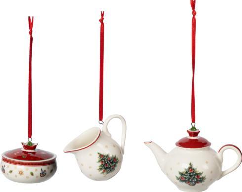 Villeroy & Boch  Toy\'s Delight Decoration Ornaments: Coffee 3 Piece Set $30.00