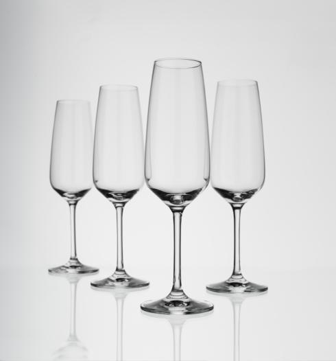 Reims Flute Champagne Set of 4