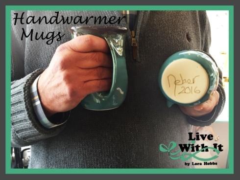 Clay in Motion   Handwarmer Mug, Right Handed $21.50