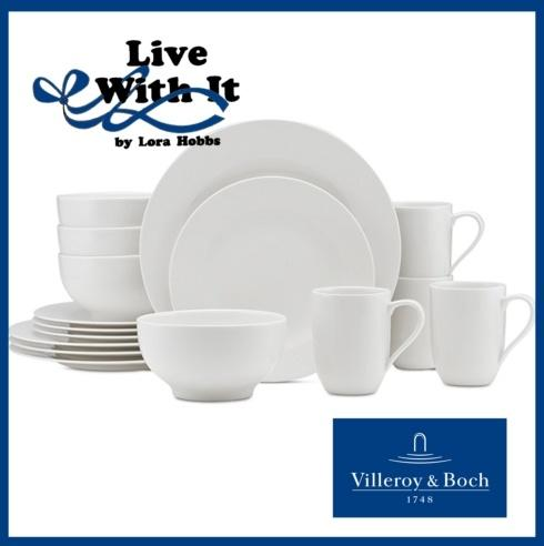 Villeroy & Boch  For Me 16 Piece Dinnerware Set: Service for 4 $150.00