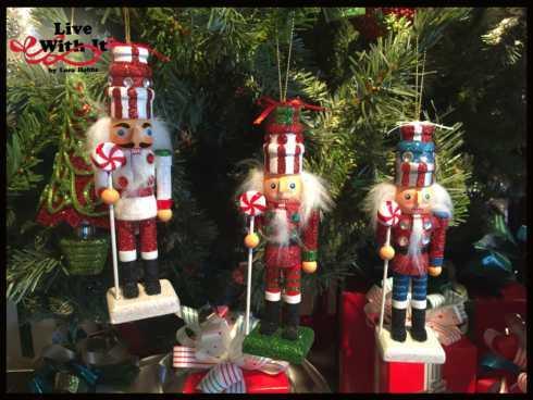 Nutcracker Ornaments, Assorted Set of 3