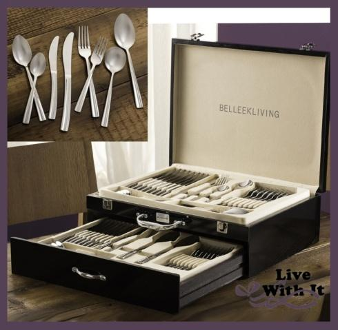 Ocassions: 72 Piece Flatware Set (with Fine Wooden Storage Chest) collection with 1 products