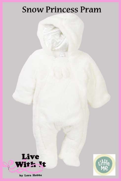 $52.00 Snow Fur Pram, 6-9 months