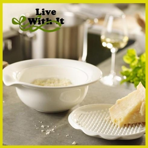 Villeroy & Boch  Pasta Passion Parmesan Cheese Grater: Bowl with Lid $30.00