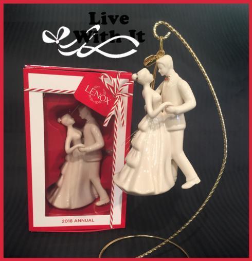 $30.00 2018 Bride & Groom Ornament