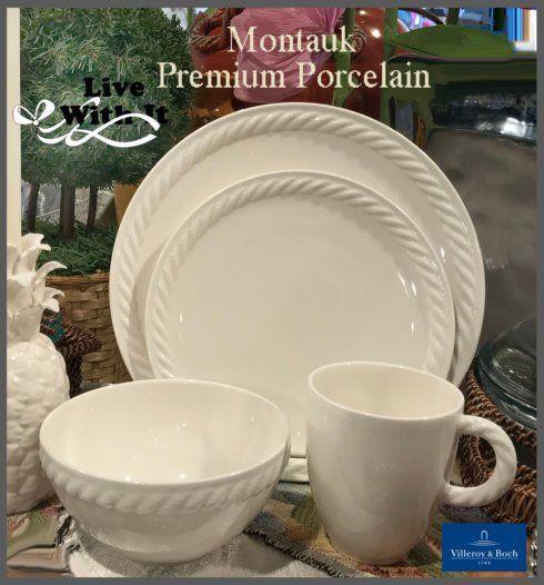 Villeroy & Boch  Montauk Montauk:  Custom 4 Piece Place Setting $66.00