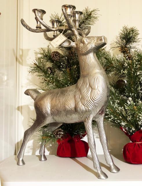 Reindeer Candelabra