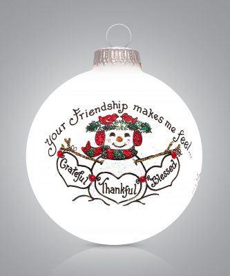 $22.00 Your Friendship makes me feel Grateful, Thankful, Blessed