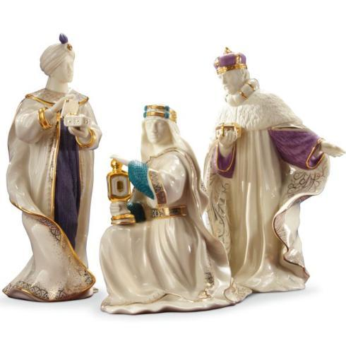 Lenox  First Blessing Nativity The Three Kings, Set of 3 $250.00