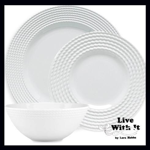 Kate Spade Wickford Wickford Dinnerware Wickford 3 Piece Place Setting $61.00