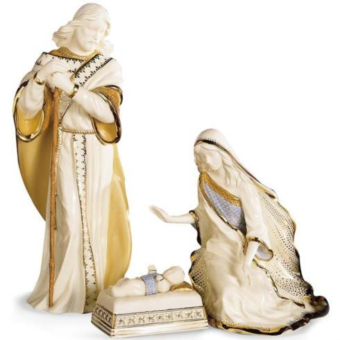 Lenox  First Blessing Nativity The Holy Family, Set of 3 $230.00