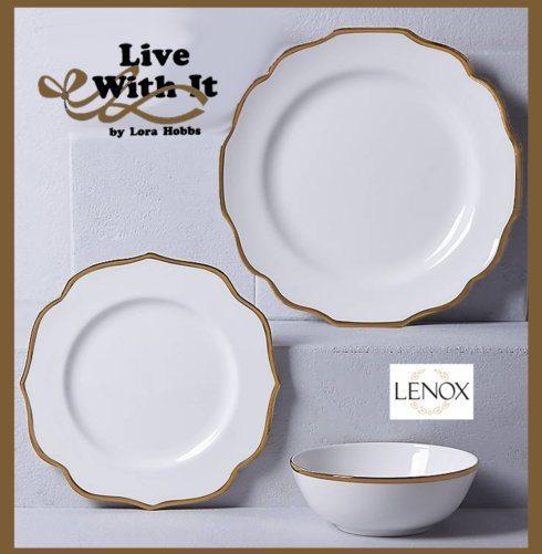 Lenox  Contempo Luxe Custom 3 Piece Place Setting   $76.85