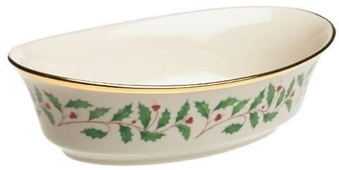 Lenox  Holiday Dinnerware Open Vegetable Bowl $160.00