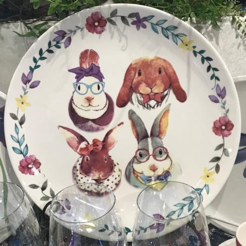 $21.00 Four Bunny Family Platter